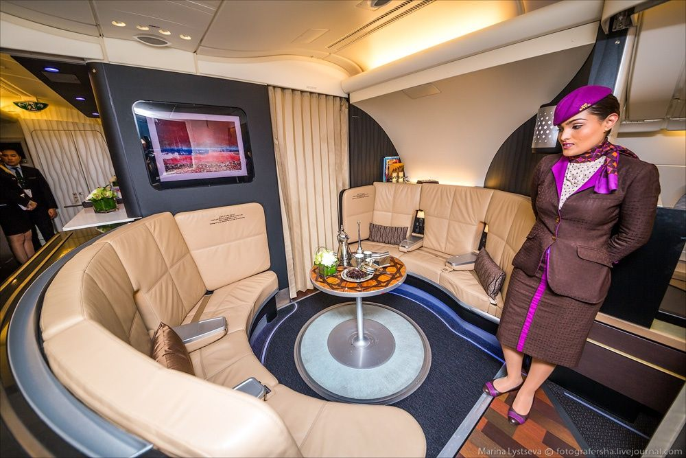 This Is How I'd Like to Fly Around the World Luxuriously