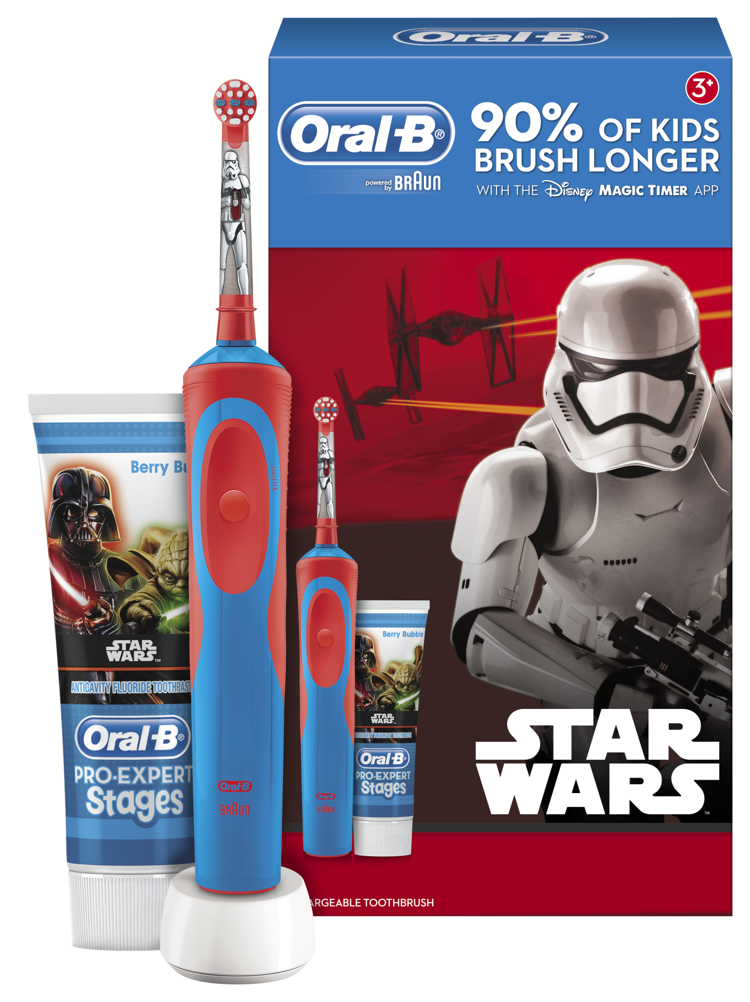 Star Wars Themed Oral B Electric Toothbrush Review Gift Idea Oral Cepillo Bebe