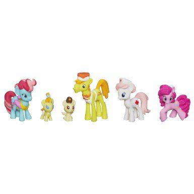 my little pony cake family babysitting fun mini collection set mlp