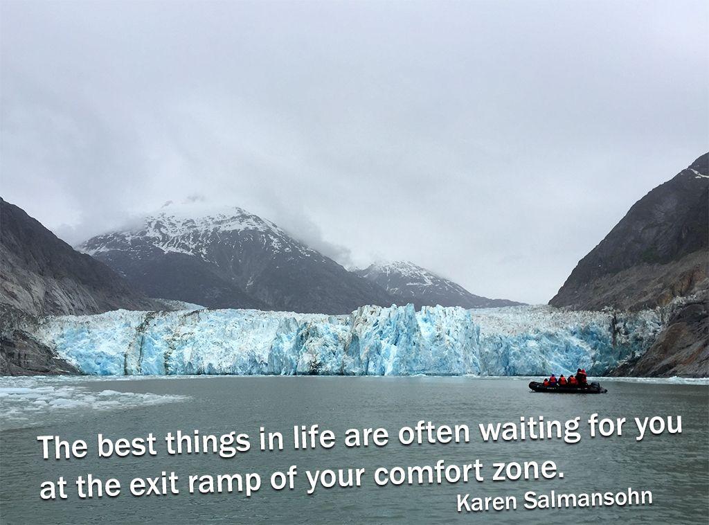 Happy Monday! Photo of Dawes Glacier (Alaska) by ET's