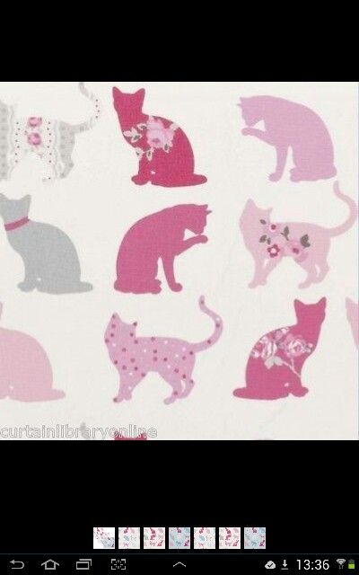 Love this for my bedroom roman blinds and chair cover...