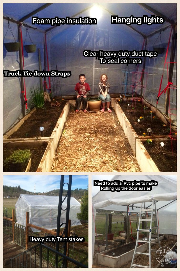 Our New Greenhouse Revived From An Old Costco Carport Frame We Bought A Replacement Kit Which They Offered As A Greenhouse Carport Carport Plans Greenhouse