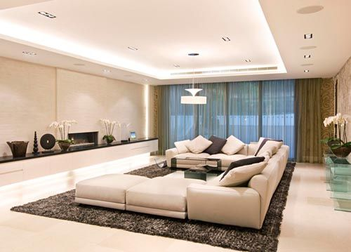 Modern Master Living Room Decorating Ideas Sample Designs And