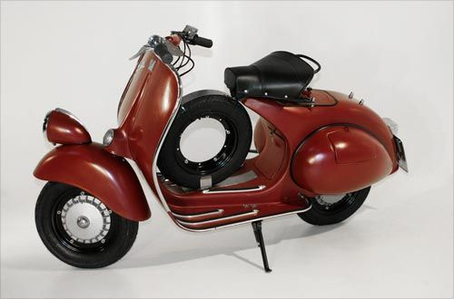 Douglas Vespa. This Italian scooter model dates from 1953