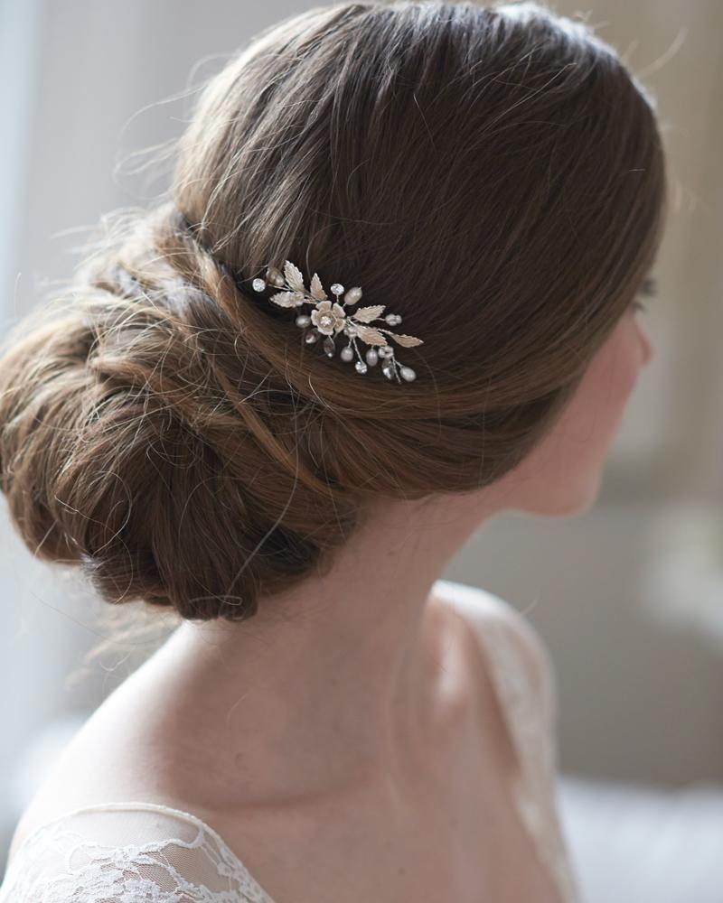 aubrey freshwater pearl hair pin in 2019   bridal hair
