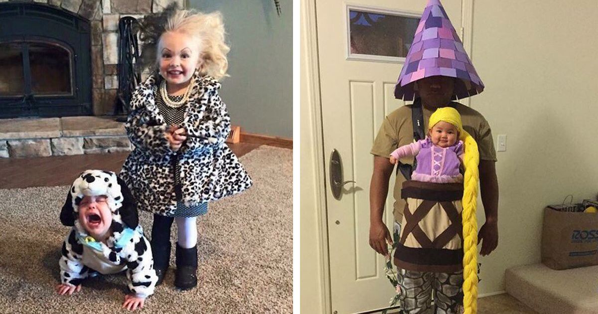 halloween as these halloween ready babies will prove adorable tots are the perfect models for creative parents and their baby costume ideas