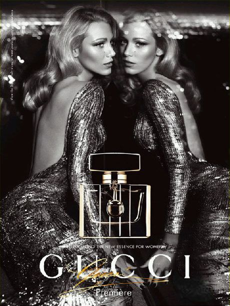 """b087b1b44 BLAKE LIVELY Looks Stunning In Latest Gucci """"Premiere"""" Fragrance Ad ..."""