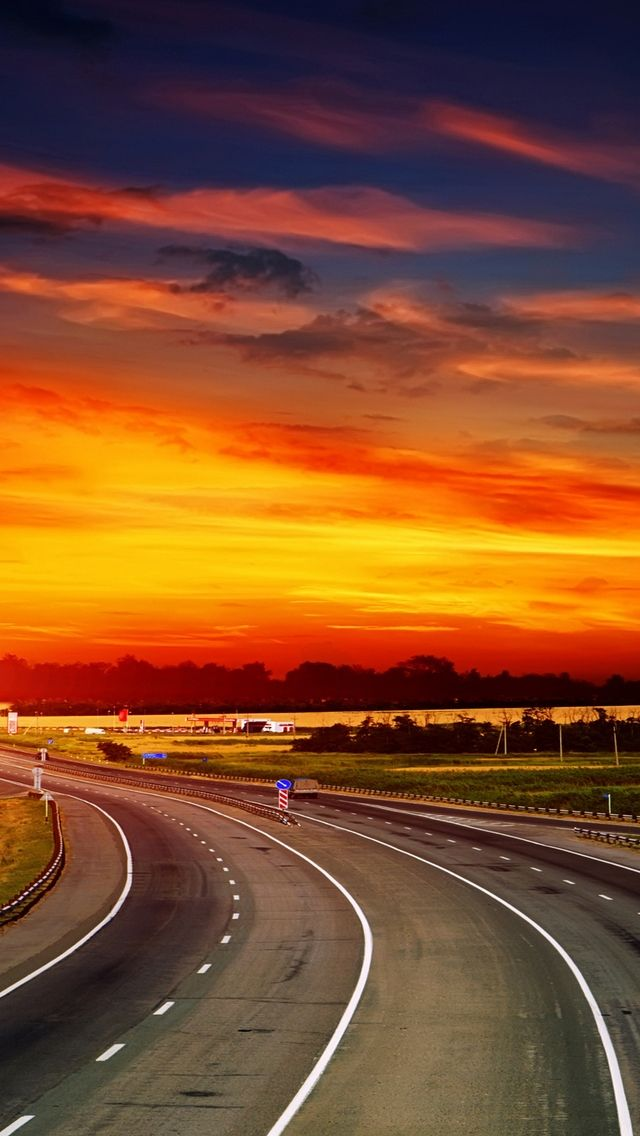 30 Awesome Samsung Galaxy S3 And Iphone 5 Wallpapers Downgraf Sunset Road Hd Nature Wallpapers Sunset Wallpaper