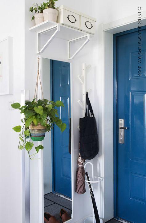 Pas assez de place dans votre maison ? Utilisez lu0027espace près de - Oeil Pour Porte D Entree