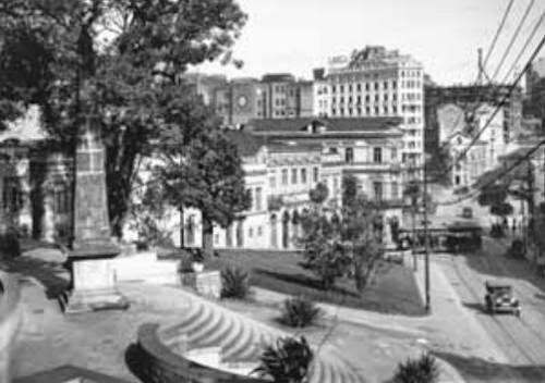 1929-São Paulo: Largo da Memória- Autor: desconhecido