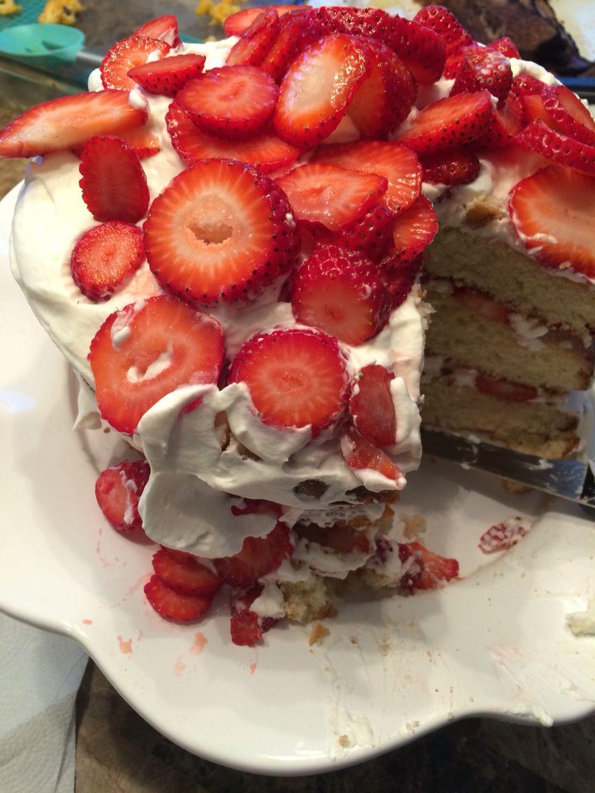 Homemade strawberry shortcake homemade strawberry