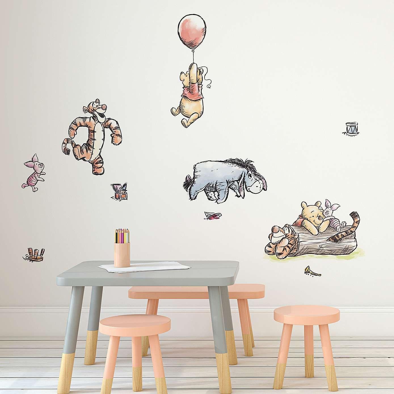 Disney Winnie The Pooh Wall Stickers Decoracion De Habitaciones