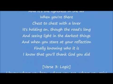Logic 1 800 273 8255 Feat Alessia Cara And Khalid Lyrics Video Khalid Lyrics Lyrics Music Lyrics