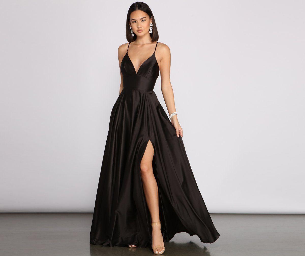 Jackie Formal High Slit Dress