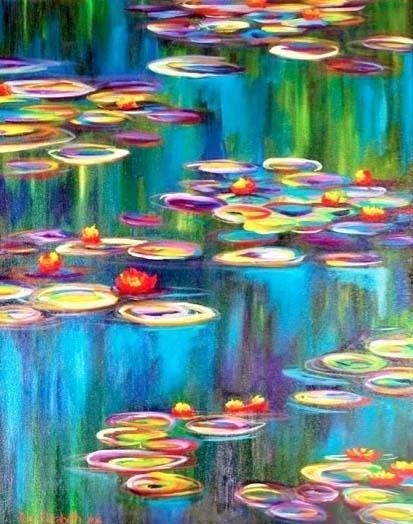 Monet's Water Lilies Fine Art print