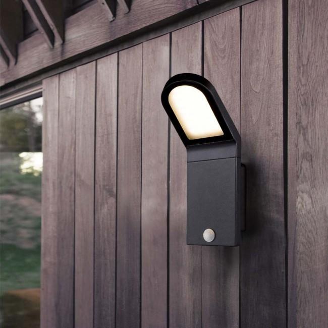 Aplique Led Con Sensor De Movimiento Castello Lamparas Es En 2020 Apliques De Pared Iluminacion De Exterior Led