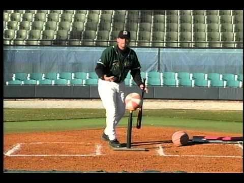 ▶ Elite Hitting Drill #11- Extension Thru Basketball - By Winning Baseball - YouTube