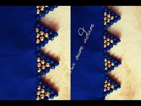 المعلم زهير يكشف لكم سر غرزة دقة الذهب بتقنية فريدة و حصرية Broderie Lm3alem Zohayr 2018 Youtu Handmade Beaded Jewelry Beaded Jewelry Diy Beading Tutorials