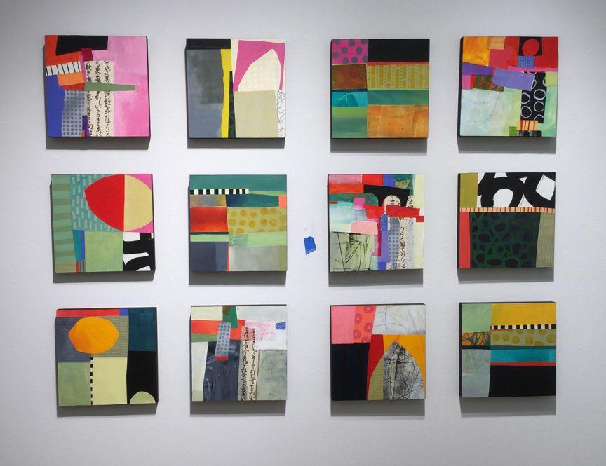Pattern Grids Jpg 864 665 Abstract Art Painting Art Painting Abstract Painting