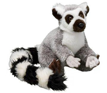 World Wildlife Fund | Ring-tailed Lemur Plush – Animal Adoptions from World Wildlife Fund - WWF Gift Center