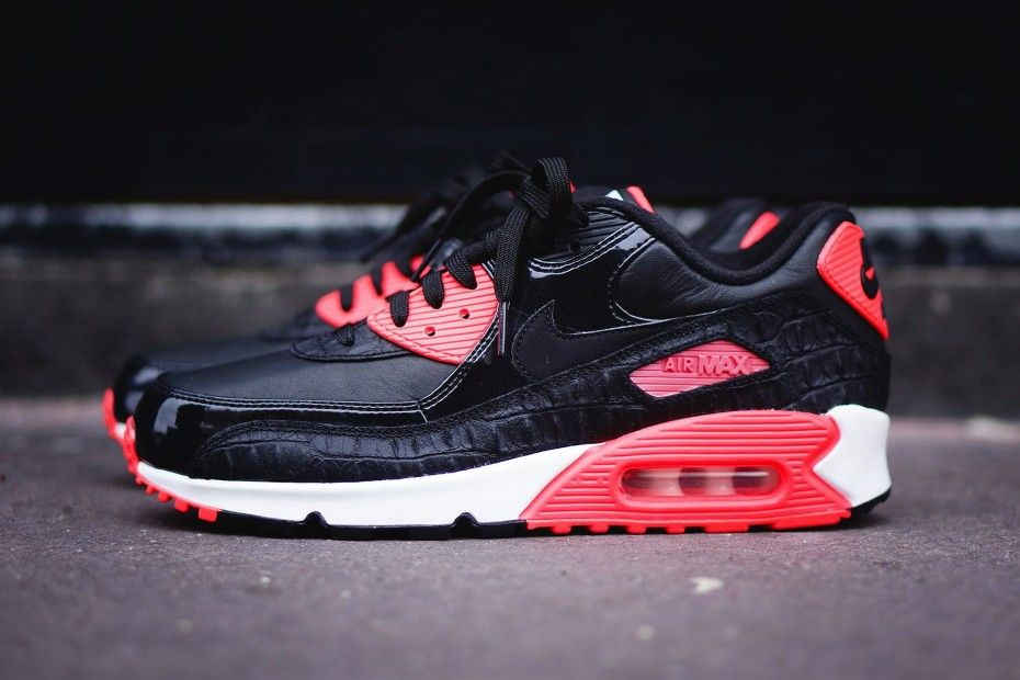 Nike Air Max 90 Infrared Croc 2015 in 2020 (With images