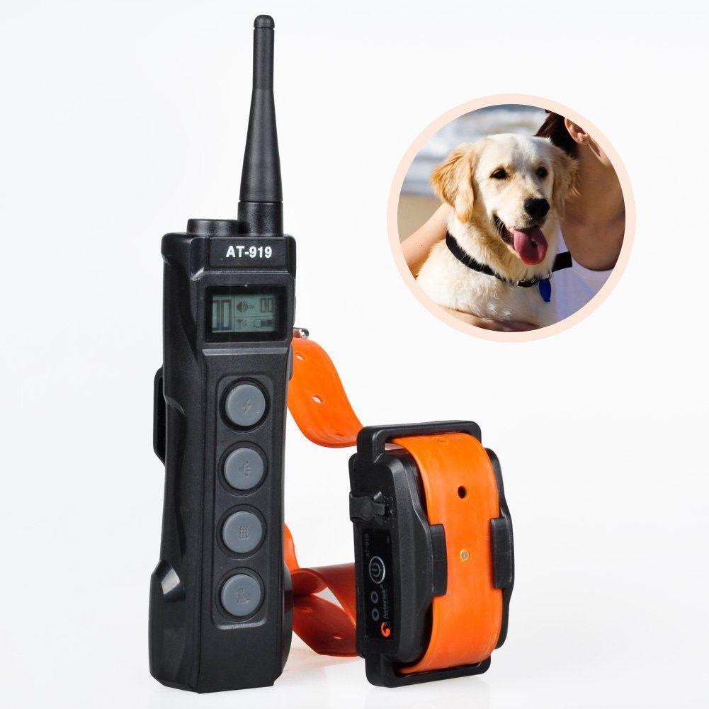 Aetertek at9191 1000m remote control bark collar 1 dog