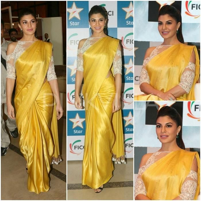 0d7d21a244ce93 Yay or Nay   Jacqueline Fernandez in Manish Malhotra