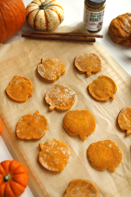 Pumpkin Honey Dog Treats Dog Biscuit Recipes Pumpkin Dog Treats