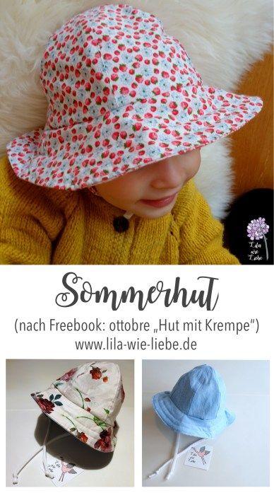 Sommerhut für Kinder (Freebook ottobre | Pinterest | Sommerhut ...