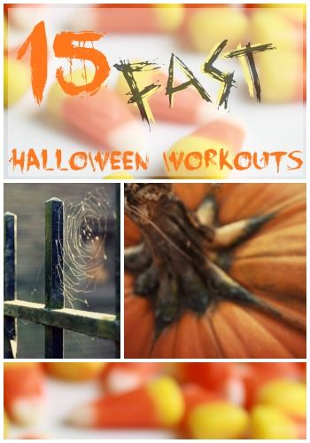 Quick Halloween Workouts