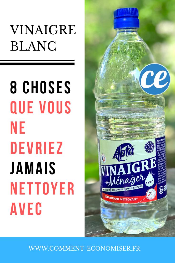 Nettoyer Lave Vaisselle Vinaigre 8 choses que vous ne devriez jamais nettoyer avec du