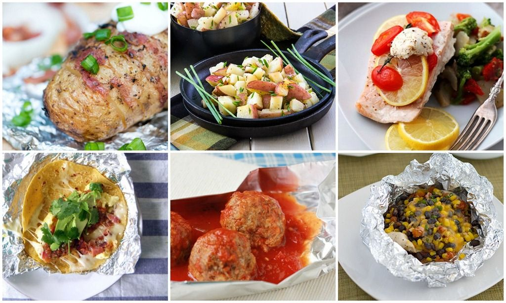 30 camping tin foil dinners campfire dinner recipes