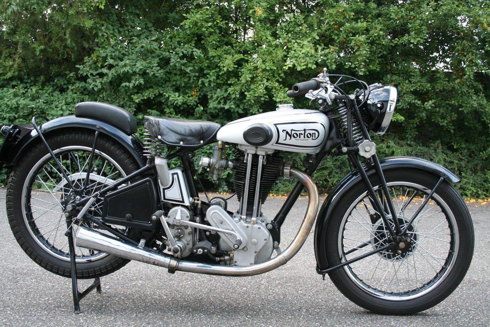 norton motorcycle | Vintage Norton Motorcycles: Peter's Model 19 Norton