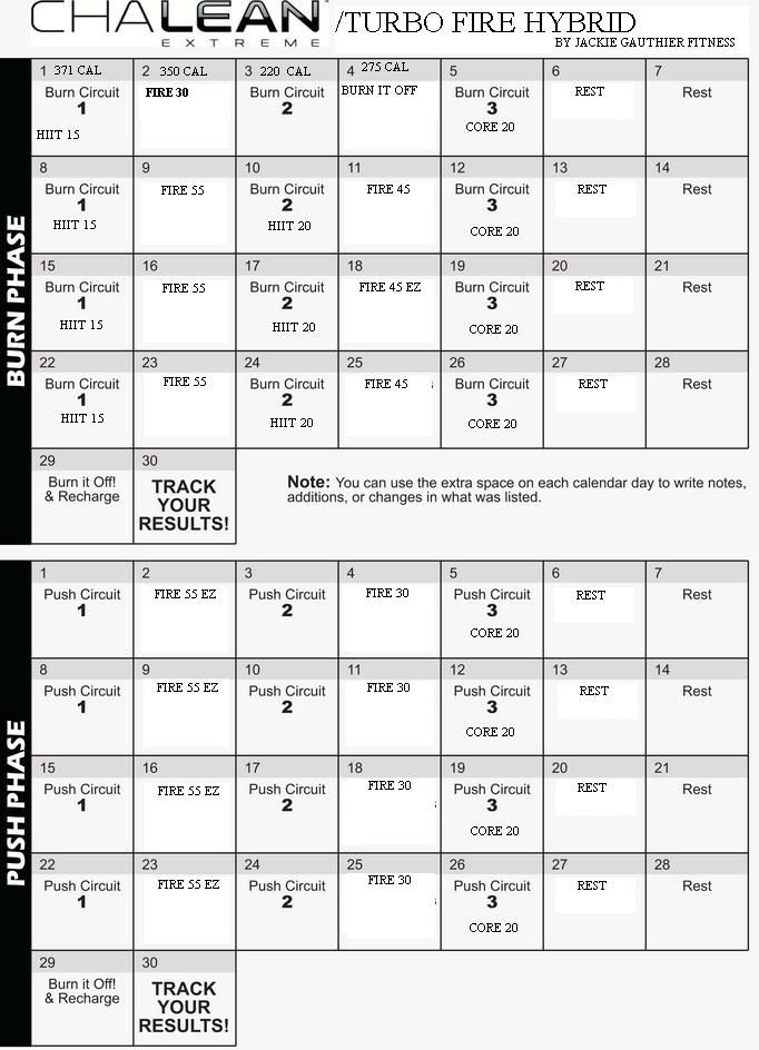 Printables Chalean Extreme Worksheets 1000 images about chalean extreme on pinterest workout calendar and workouts