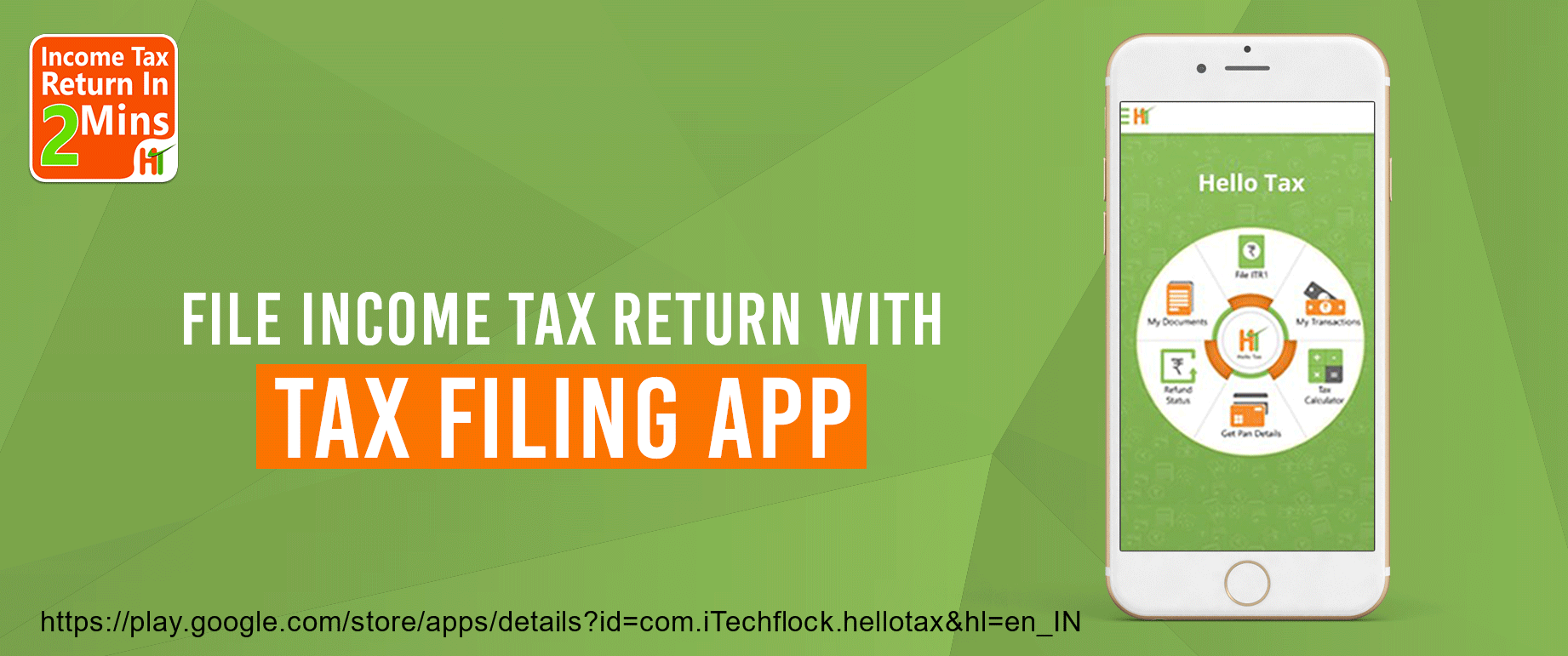 File Income Tax Return with Tax Filing App Any salaried employee can
