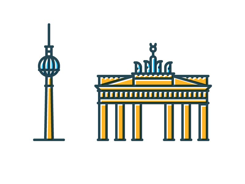 Symbolic Berlin Berlin Symbols Instagram Icons