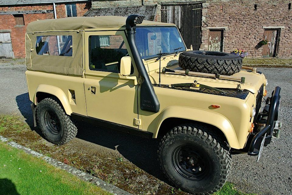 Desert Raider Land Rover Defender 90 Built By Rugged Guide Http Www
