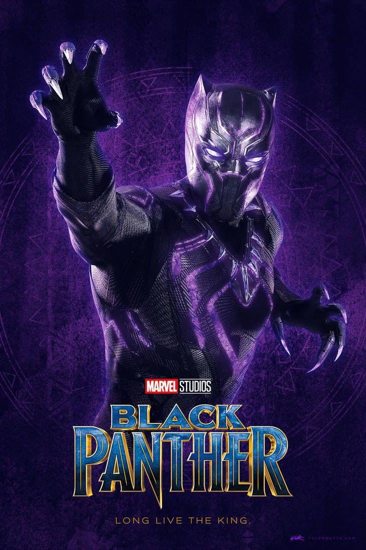 Black Panther Poster V1 by tyler-wetta on DeviantArt