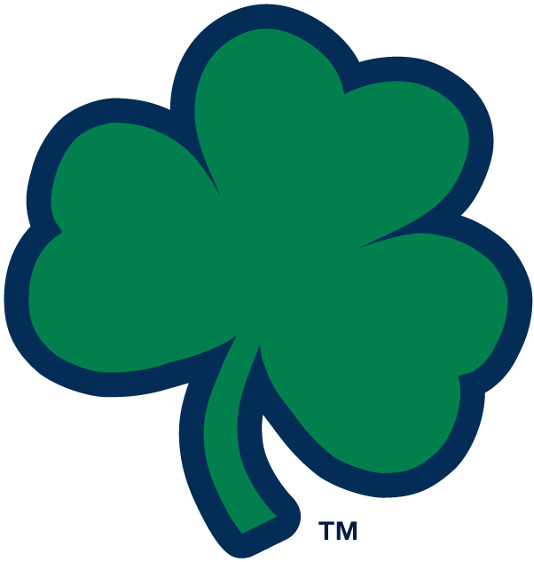 Notre dame fighting irish alternate logo ncaa division i for Notre dame fighting irish coloring pages