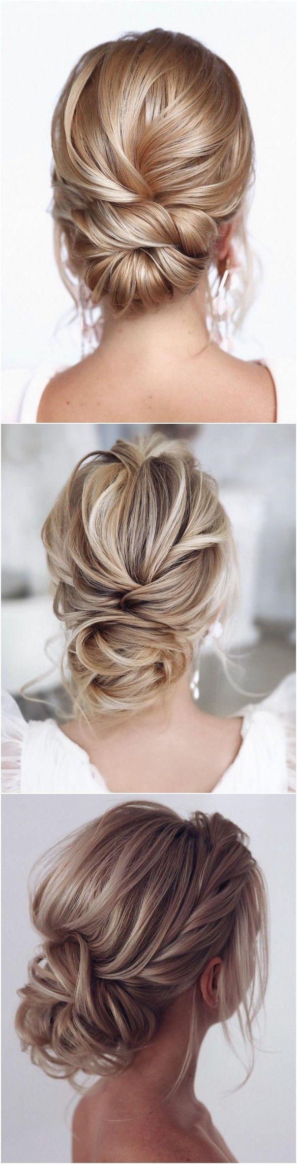 20 Classic Low Bun Wedding Hairstyles from Tonyastylist in ...