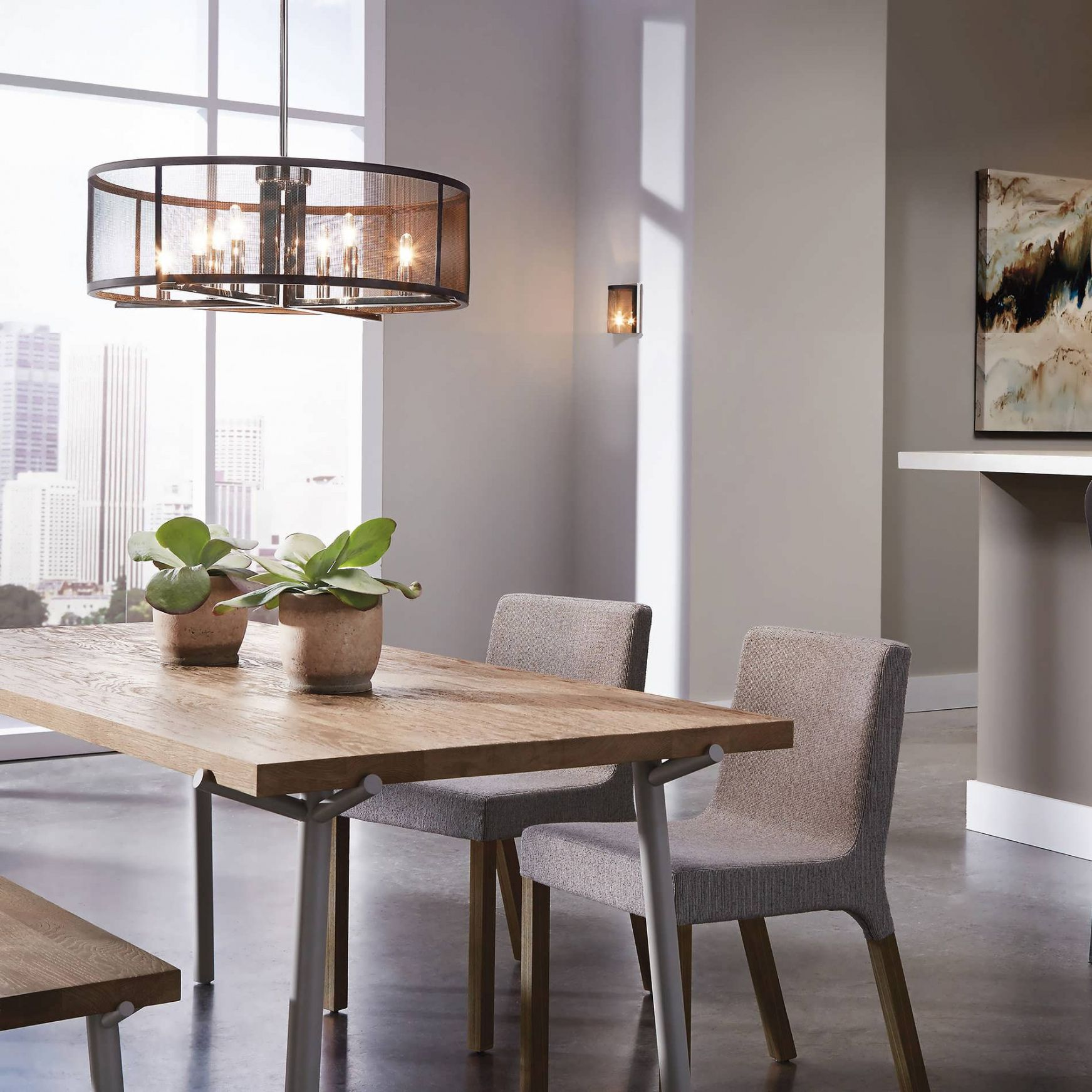 casual dining room lighting interior paint colors for 2017 check rh pinterest com casual dining room lighting ideas Rectangular Chandelier Dining Room