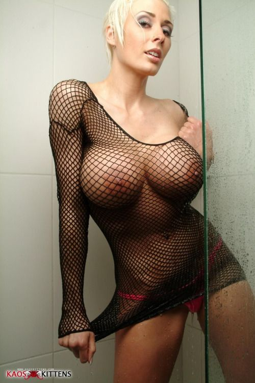 bodystocking tits Fishnet big