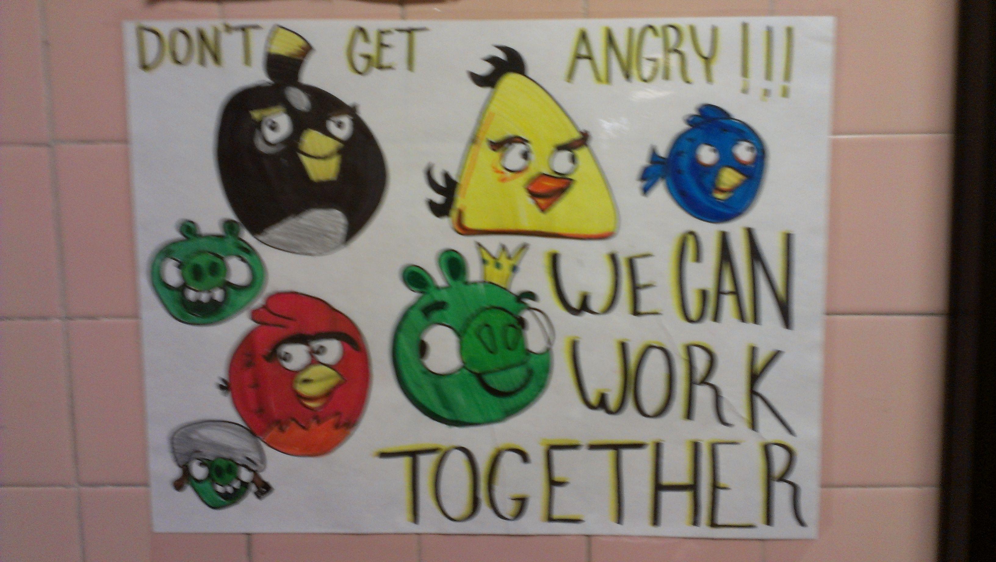 Anti Bullying Week Poster