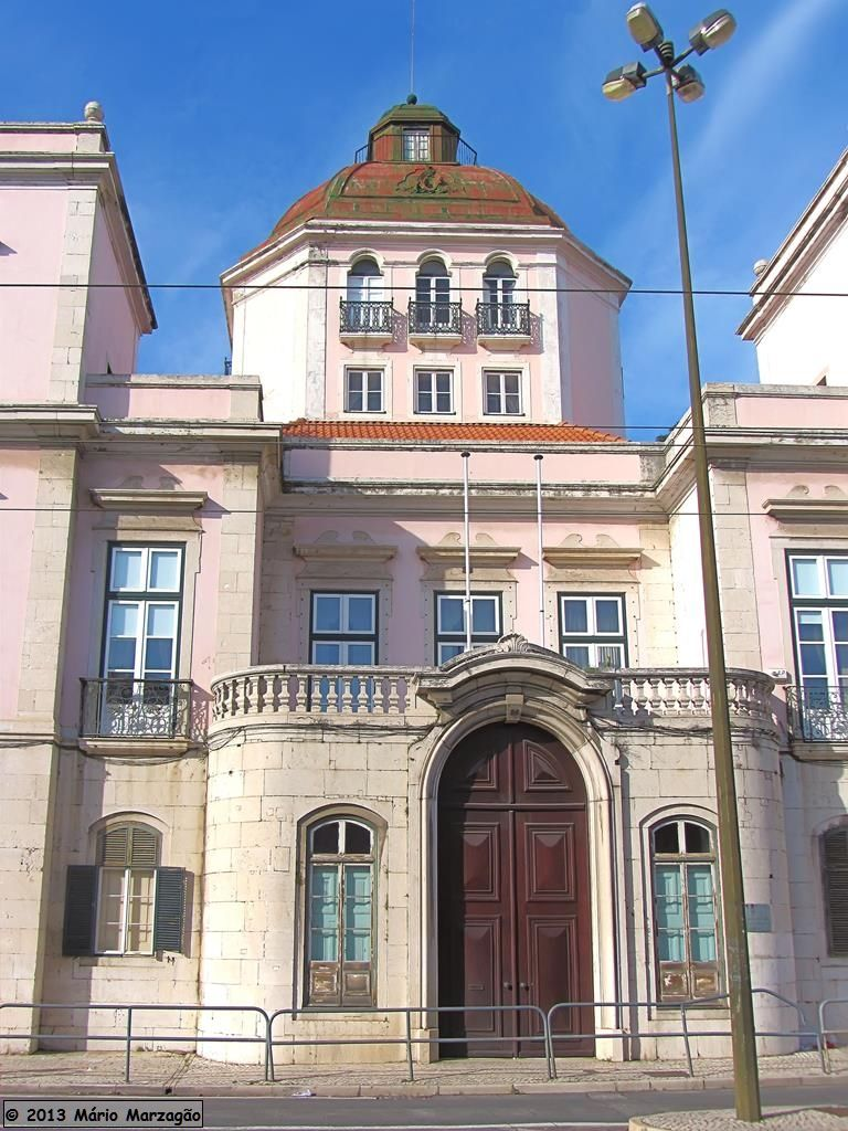 Rua da Junqueira, Lisboa Palácio Burnay