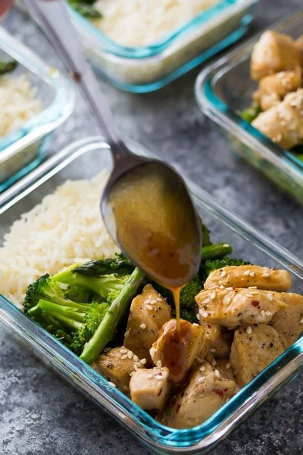 27 Ridiculously Easy Chicken Meal-Prep Recipes images