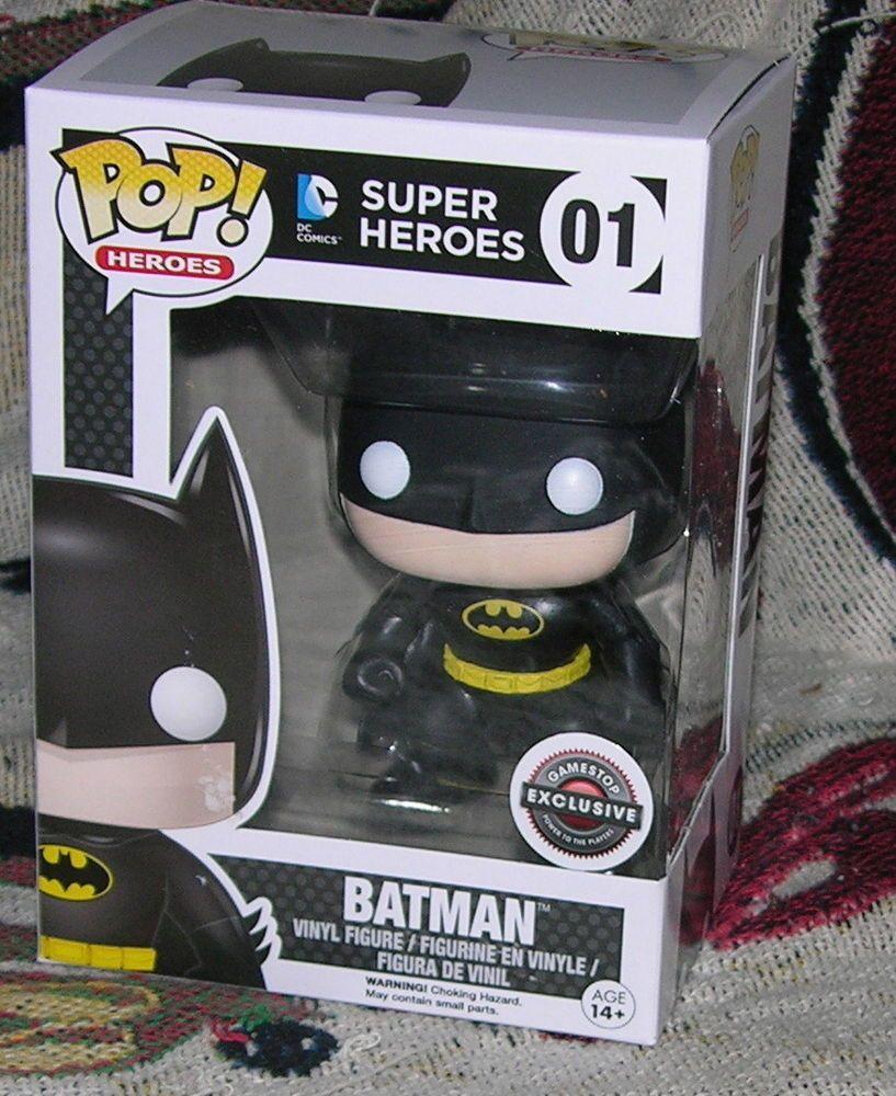 Batman Funko Pop Gamestop Exclusive Black Friday Dc Comics