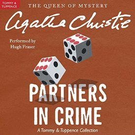 """Tommy and Tuppence Beresford are restless for adventure, so when they are asked to take over Blunt's International Detective Agency, they leap at the chance. Their first case is a success - the triumphant recovery of a pink pearl. Other cases soon follow - Another must-listen from my #AudibleApp: """"Partners in Crime: A Tommy and Tuppence Mystery"""" by Agatha Christie, narrated by Hugh Fraser."""