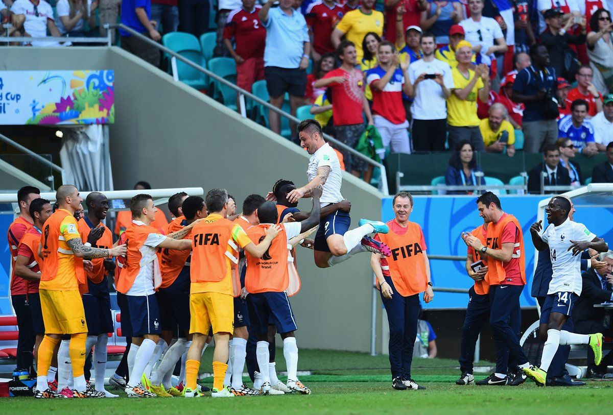 The Best Goal Celebrations Of The World Cup Football