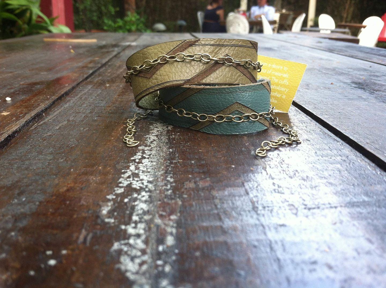 Zig Zag Bracelet www.wetclaystudio.com $44.00