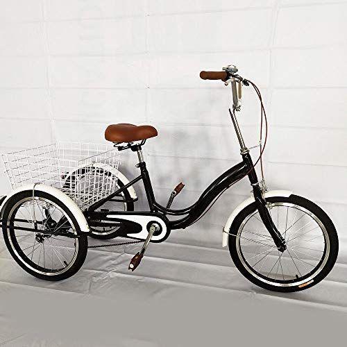 senderpick 20 3 rad erwachsene dreirad singlespeed fahrrad erwachsene fahrrad radfahren pedal. Black Bedroom Furniture Sets. Home Design Ideas